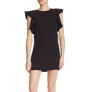 Laundry by Shelli Segal Ruffle Sleeve Mini Dress 6
